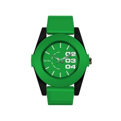 UNISILVER TIME THE VOICE KIDS DARREN ESPANTO GREEN ANALOG RUBBER WATCH KW1512-2006 WITH FREE MUG image here
