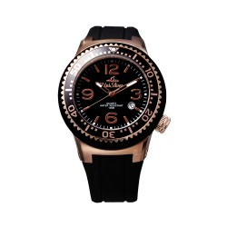 UNISILVER TIME POSH MALLOW ELITE (BLACK / ROSE GOLD) KW2123-1409 image here