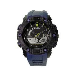 UNISILVER TIME RADLER ANALOG-DIGITAL RUBBER BLUE / BLACK KW2026-1001 image here
