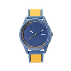 UNISILVER TIME BASELINE ANALOG RUBBER BLUE / YELLOW ORANGE WATCH KW2032-2001 image here
