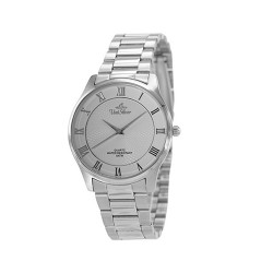 UNISILVER TIME MEN'S CLASSICA PAIR STAINLESS STEEL WHITE WATCH KW2160-1101 image here