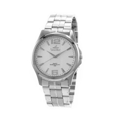 UNISILVER TIME MEN'S STRIATA STAINLESS STEEL WATCH KW2149-1101 image here