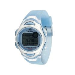 UNISILVER TIME MEN'S TRANSPARENT SKY BLUE RUBBER WATCH KW114-3444   image here