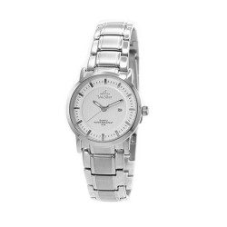 UNISILVER TIME LADIES' VANTEDGE PAIR ANALOG STAINLESS STEEL SILVER WATCH KW1958-2101 image here