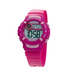 UNISILVER TIME LYCA GAIRANOD'S POPSTER DIGITAL FUCHSIA / PINK KW2261-2001 image here