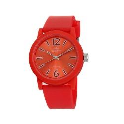 UNISILVER TIME UNISEX PLAYSOME ANALOG RUBBER RED KW2289-2004 WATCH image here