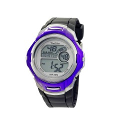 UNISILVER TIME MEN'S NUCLEON DIGITAL RUBBER BLACK / BLUE KW2208-1003 WATCH image here
