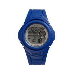 UNISILVER TIME MEN'S NUCLEON DIGITAL RUBBER BLUE KW2208-1006  image here
