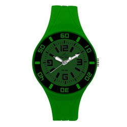 UniSilver TIME Zesty Women's Green Analog Rubber Watch KW2189-2102 image here