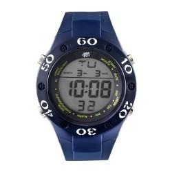 Hea Arrow Unisex Navy Blue Rubber Watch Kha1782-1002 image here