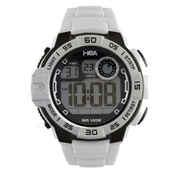 Hea ActiveEdge Men's Rubber Watch Kha1903-1001 (White) image here