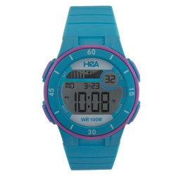 Hea Ranger Unisex Blue Rubber Watch Kha1906-2002   image here