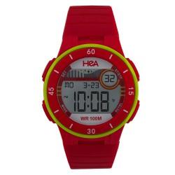 Hea Ranger Unisex Red Rubber Watch Kha1906-2003   image here