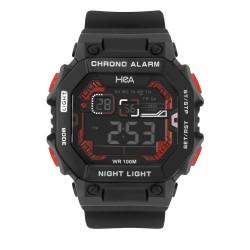 Hea Raymond Tay's Signature Watch Black/Red Rubber Watch Kha2076-1002 image here