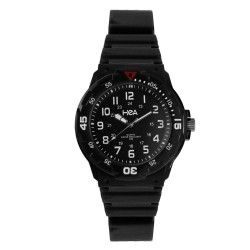 Hea U&Mi Women's Black Rubber Watch Kha2222-2103 image here
