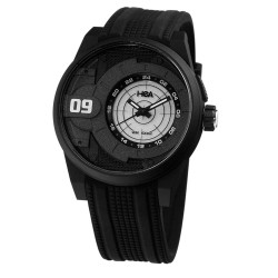 HEA AIZA SEGUERRA'S SIGNATURE WATCH UNISEX BLACK RUBBER WATCH KHA2311-1001  image here