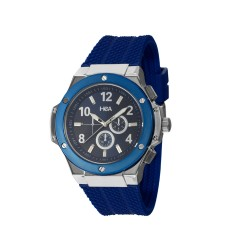 HEA ELLIOT UNISEX BLUE RUBBER WATCH KHA2369-1104(BLUE)   image here