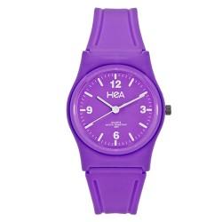Hea Jellybean Women's Violet Rubber Watch Kha2049-1002 image here