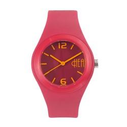 Hea Bubblegum Unisex Pink Rubber Watch Kha1740-2006 image here