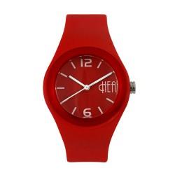 Hea Bubblegum Unisex Red/White Rubber Watch Kha1740-2005 image here