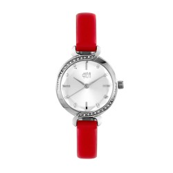 Hea Elgante Women's Red Leather Watch Kha1861-2003   image here