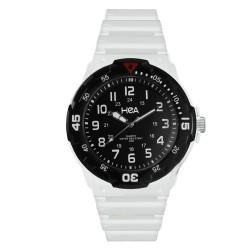 Hea U&Mi Men's White/Black Rubber Watch Kha2221-1102 image here