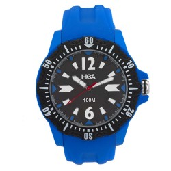 HEA URBAN DRIFT RUBBER ANALOG WATCH BLUE KHA1904-1001 image here