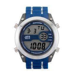 Hea iSO1 Unisex Blue Rubber Watch Kha1780-1001   image here