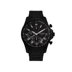 MOA HELMSMAN CHRONOGRAPH MEN'S BLACK / BLACK STAINLESS STEEL WATCH KM1716-1504  image here