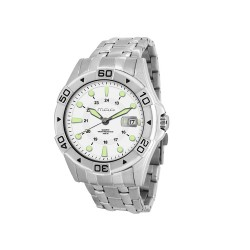 MOA SPECTRA MEN'S SILVER STAINLESS STEEL WATCH KM1098-1101 image here