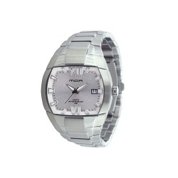 MOA CONTOUR MEN'S SILVER / SILVER ANALOG STAINLESS STEEL WATCH KM597-1101  image here