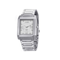 MOA BEAU MEN'S SILVER / SILVER ANALOG STAINLESS STEEL WATCH KM684-1101 image here