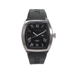 MOA OBTUSE MEN'S BLACK ANALOG RUBBER STRAP WATCH KM1886-1502   image here