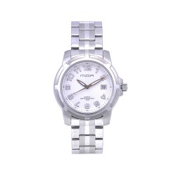 M.O.A MEN'S CENTRINO PAIR ANALOG STAINLESS STEEL WHITE KM586-1101 WATCH image here