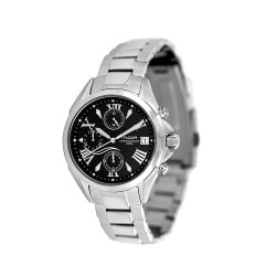 M.O.A MEN'S GENESIS CHRONOGRAPH STAINLESS STEEL BLACK KM743-2102 WATCH image here