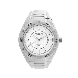 M.O.A MEN'S SPECTRA PAIR ANALOG STAINLESS STEEL WHITE KM746-1101 WATCH image here