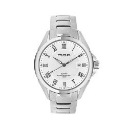 M.O.A MEN'S CYGNUS IX ANALOG STAINLESS STEEL WHITE KM773-2101 WATCH image here