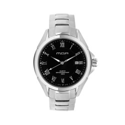 M.O.A MEN'S CYGNUS IX ANALOG STAINLESS STEEL BLACK KM773-2102 WATCH image here