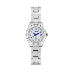 M.O.A LADIES' CENTRINO PAIR ANALOG STAINLESS STEEL WHITE / BLUE KM722-2141 WATCH image here
