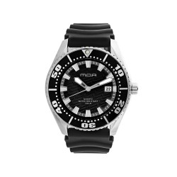 M.O.A MEN'S COMPAGNON PAIR ANALOG RUBBER BLACK KM754-9583 WATCH image here