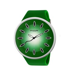 MOA FRUITY UNISEX GREEN ANALOG RUBBER STRAP WATCH KM890-1001 image here