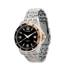 MOA DELTA MEN'S SILVER / BRONZE ANALOG STAINLESS STEEL WATCH KM891-1503 image here