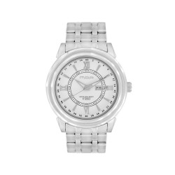 MOA CENTURIAN-CRYSTAL PAIR MEN'S SILVER / WHITE AUTOMATIC STAINLESS STEEL WATCH KM939-1101 image here