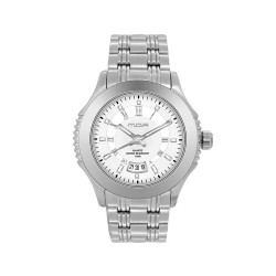 M.O.A MEN'S DESTINEA PAIR ANALOG STAINLESS STEEL SILVER / WHITE KM1085-1101 WATCH image here