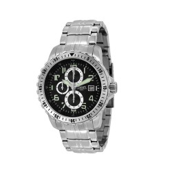 M.O.A MEN'S PONIARD-BASIC CHRONOGRAPH STAINLESS STEEL SILVER / BLACK KM1101-1102 WATCH image here
