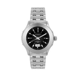 M.O.A LADIES' DESTINEA PAIR ANALOG STAINLESS STEEL SILVER / BLACK KM1123-2102 WATCH image here
