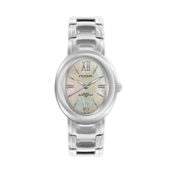 M.O.A LADIES' OPHELIA ANALOG STAINLESS STEEL SILVER / WHITE MOTHER-OF-PEARL KM1168-2108 WATCH image here