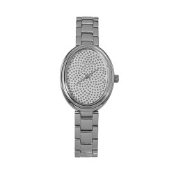 M.O.A LADIES' BELLASPORA ANALOG STAINLESS STEEL SILVER / WHITE KM1463-2101 WATCH image here