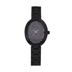 M.O.A LADIES' BELLASPORA ANALOG STAINLESS STEEL BLACK KM1463-2504 WATCH image here