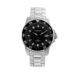 M.O.A MEN'S STROMA ANALOG STAINLESS STEEL SILVER/BLACK KM1647-1102 WATCH image here